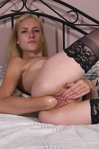 Model Mazzy Grace in My Gaping Pussy